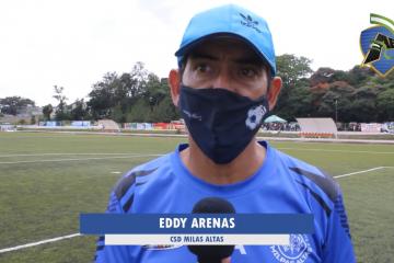 "Eddy Arenas: ""Perjudica el jugar a esta hora""."
