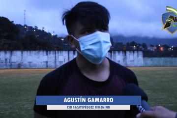 """Gamarro: """"Me estoy enfocando en mejorar su resistencia""""."""